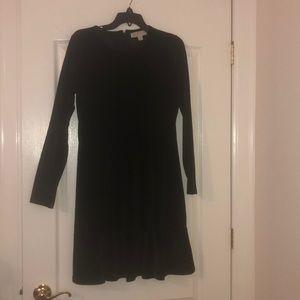 NEW Michael Kora velvet black dress